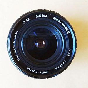 Φακός 2.8 Sigma for Canon