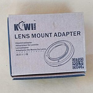 Lens Mount Adapter Canon AE-1 to EOS