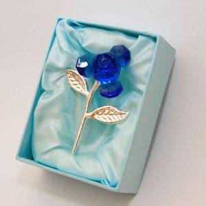 Λουλούδι Κόσμημα  Μπλε