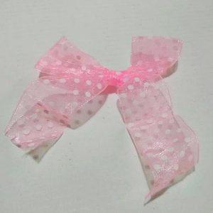 Φιόγκος κορδέλα ροζ